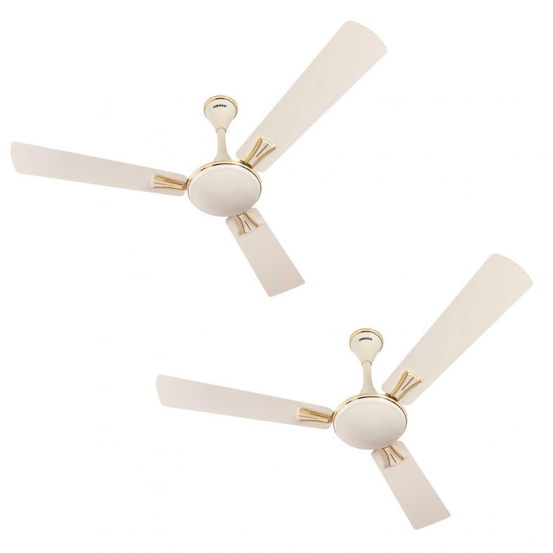 Luminous Premium 1200mm Ceiling Fans, Pack of 2 for ₹2,979