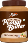 Alpino Coconut Peanut Butter Smooth, 1 KG for ₹329
