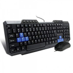 Amkette Xcite NEO Wired USB Keyboard and Mouse Combo for ₹549