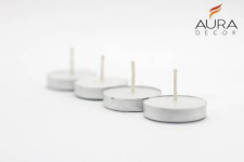 AuraDecor Pack of 100 Unscented Tealight Candles for ₹199
