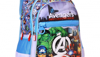 Avengers Polyester 35 cms Multi School Bag for ₹374