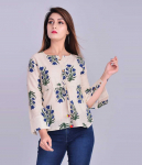 BLezza Casual Full Sleeve Floral Print Women Top for ₹266