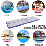 CHENGLE Inflatable Gymnastics Training Mats 4 Inch Thickness for $169.09