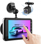 DMYCO Store Dash Cams for Cars Front and Rear, 1080P FHD for £32.50