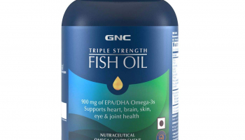 GNC Fish Oil 1500mg Omega-3 Supplement for ₹1,339