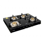 Glen 1048 SQ BL 4 Burner Glass Cooktop with Auto Ignition for ₹10,121