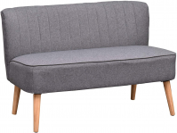 HOMCOM Modern Double Seat Sofa Couch for £118.99