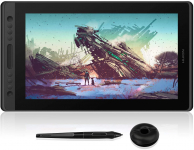 HUION Kamvas Pro 16 Drawing Monitor Pen Graphic Tablet for $293