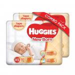 Huggies Taped 22 Count Diapers Combo Pack, XS Size for ₹347