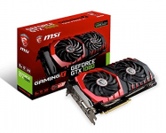 MSI GeForce GTX 1080 Gaming X 8GB PCI-Express Graphics Card for ₹59,990