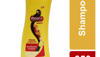 Meera Strong and Healthy Shampoo, 650ml for ₹315