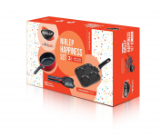 Nirlep by Bajaj Electricals 3-Piece Non-Stick Breakfast Gift Set for ₹9999
