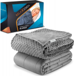 RELAX EDEN Adult Weighted Blanket, Hot and Cold for $52.70