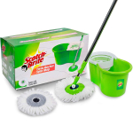 Scotch-Brite 2-in-1 Bucket Spin Mop with 2 Refills Free for ₹999